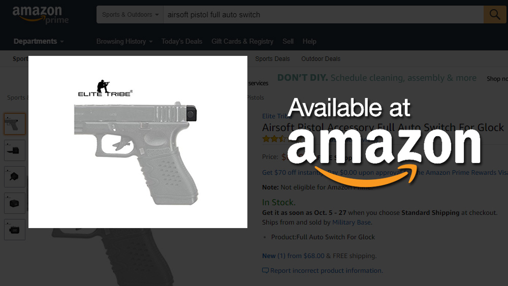 Adams Auto Parts >> Amazon.com caught selling illegal FULL AUTO gun parts in ...